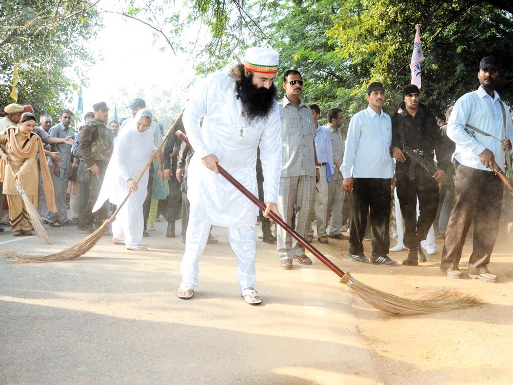 cleanliness campaign Cleanliness earth campaign initiated by dera sacha sauda, sirsa, under the  supervision of saint dr gurmeet ram rahim singh ji insan.